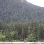 Talon performing HETS operation at Debeck Creek
