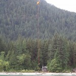 Talon performing HETS at Debeck Creek beach