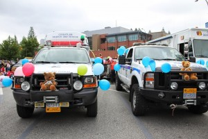 Coquitlam 2 and Coquitlam 4 with Teddy Bears