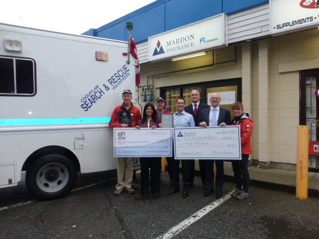 Gore Mutual Foundation and Coquitlam Sunrise Rotary