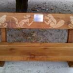 Roland Webb Memorial Bench