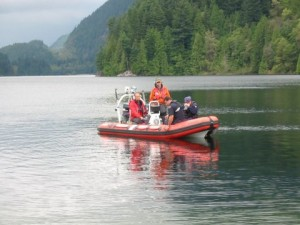 Search for Missing Diver