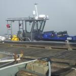 Ridge Meadows landing craft carrying Mission SAR Argo ATV