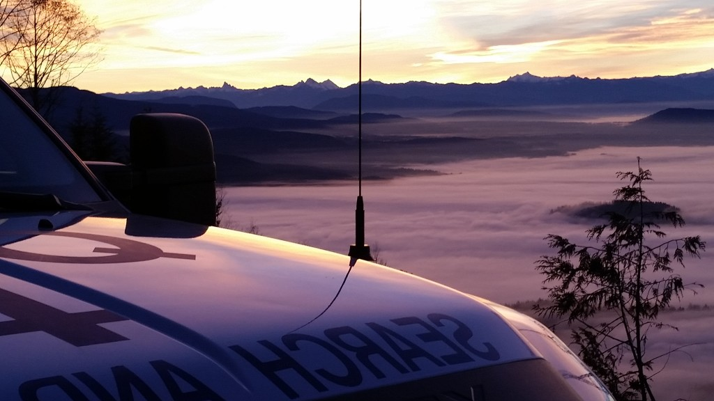 Burke Mountain Winter Sunrise