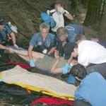 Rescuing a woman who overdosed near Buntzen Lake