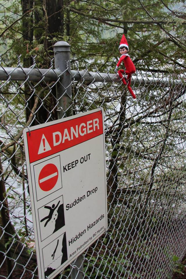 Prusik loves adventure, but also knows that several elves were hurt in the backcountry this year. Whatever your activity, evaluate the risks and make smart decisions. #SARelf