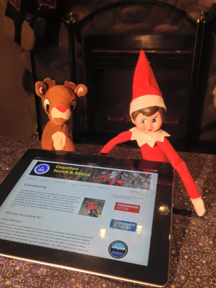 Look who was surfing our website last night. Prusik is interested in joining the team. Seems to have some good outdoor skills, but has limited availability. Should we take Prusik on? Do you want to see #SARelf again next year?