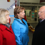 Christy Clark, Don Cunnings (team founder) and Linda Reimer
