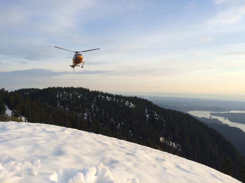 Helicopter inbound