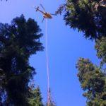 Long Line Rescue at Buntzen Lake