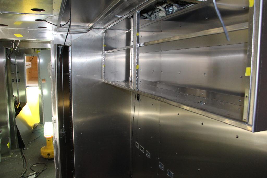 Interior overhead cabinets