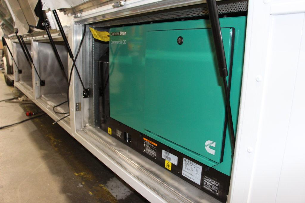 Generator installed