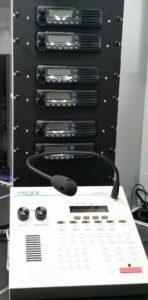 Digital radio system for field team position tracking