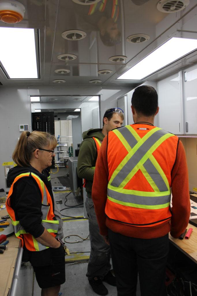 Final inspections