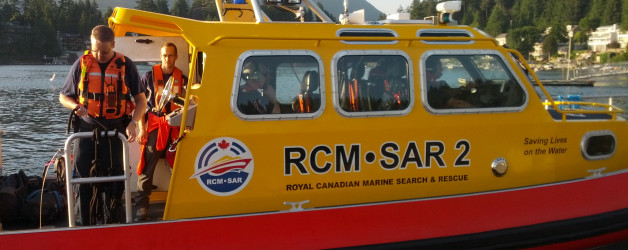 Cross training with RCM-SAR Station 2