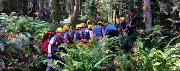 Rescue on the Goat Trail