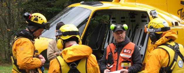 Long Line Rescue Scenario