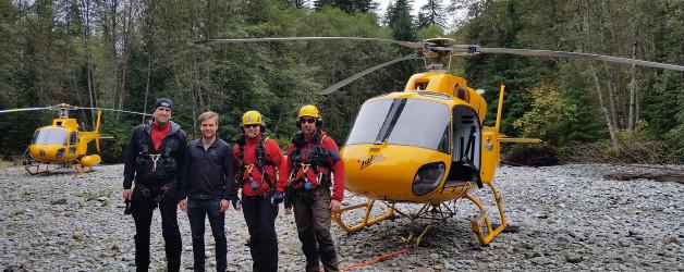 Three rescues in a week