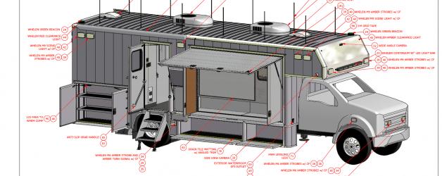 Mobile Command Centre Build Underway