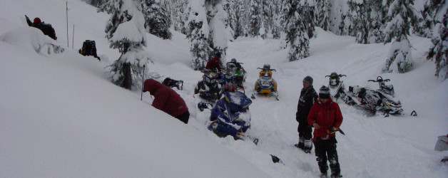 Winter Conditions During Search on Eagle Ridge