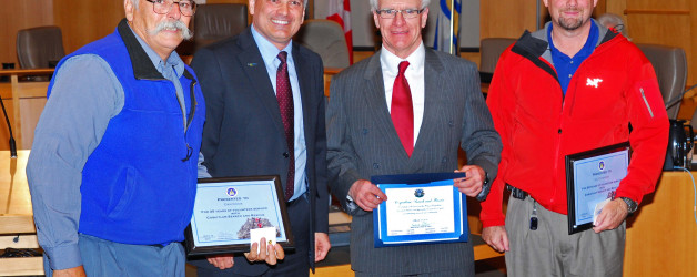 Coquitlam SAR Recognized for 40 years of service